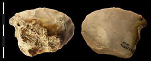 Скребло из камня