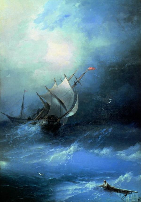 Картины Айвазовского. Часть 2