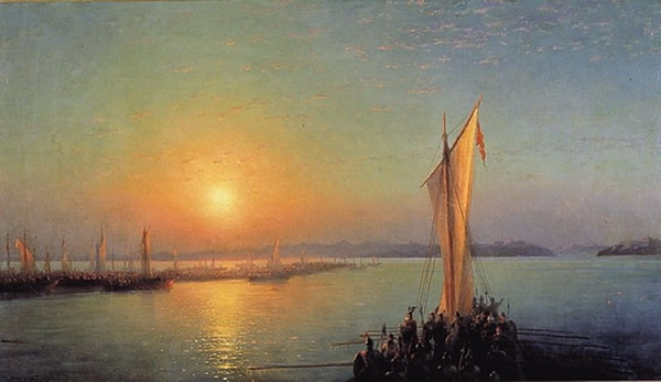 Картины Айвазовского. Часть 3