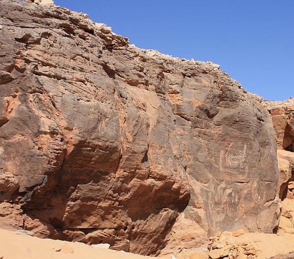 Самое древнее изображение фараона в белой короне Верхнего Египта