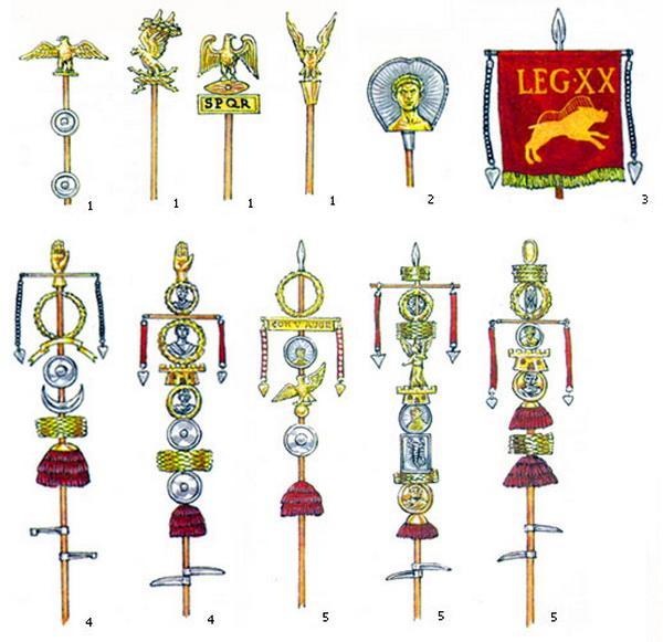 Штандарты римской армии