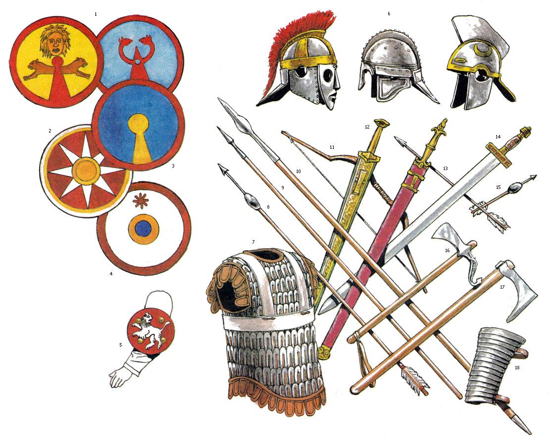 Вооружение и снаряжение Восточной Римской империи