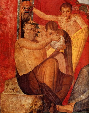 Красные фрески Помпеев изначально были желтыми