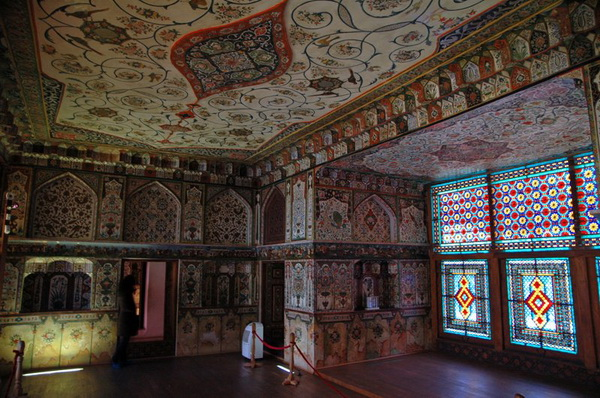 Ханский дворец в Шеки в Азербайджане