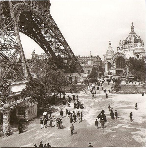 Ретро фотографии Парижа. ХХ век