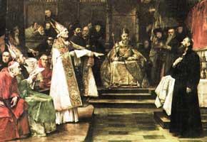 Ян Гус на Соборе в Констанце
