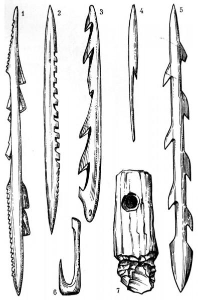 Костяной гарпун (каменный век)