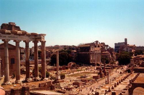 Упадок античной цивилизации