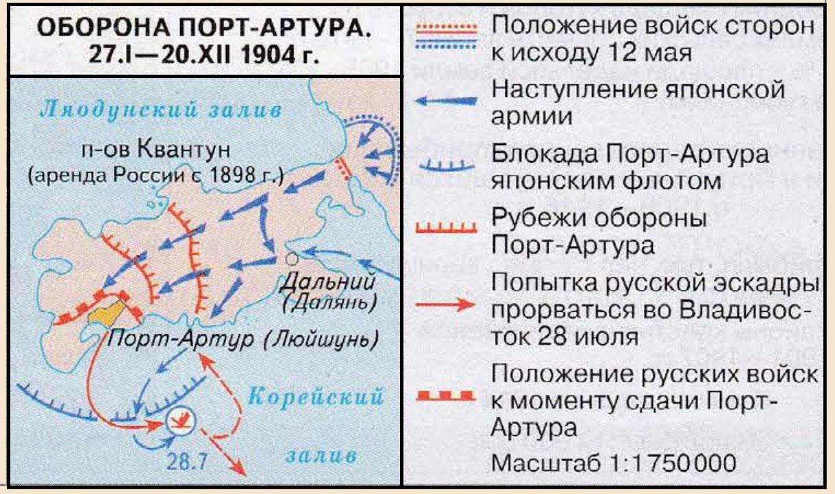 русско японская война 1904 1905 гг карта