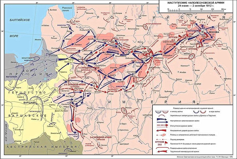 отечественная война 1812 года кратко самое главное